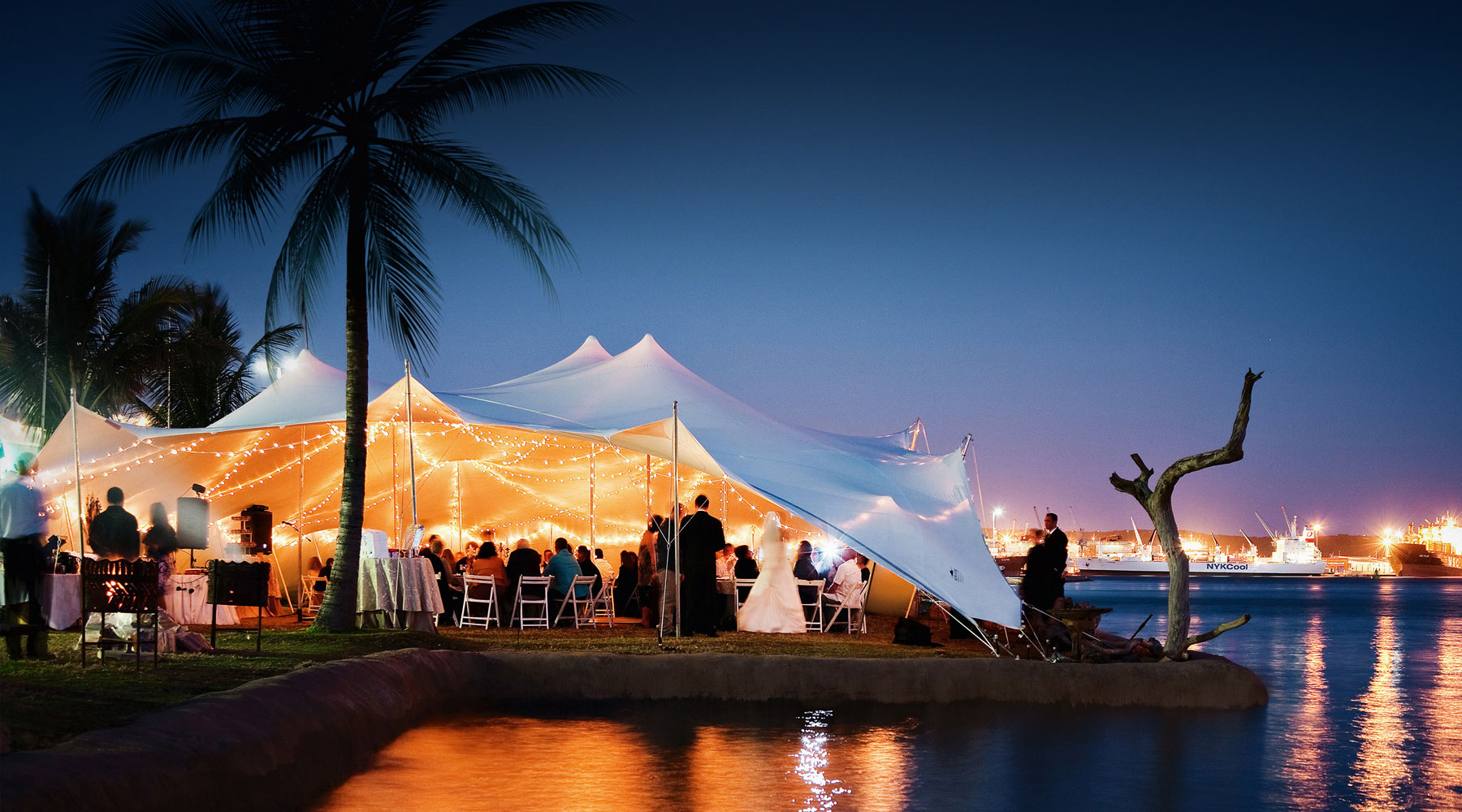 stretch tent services